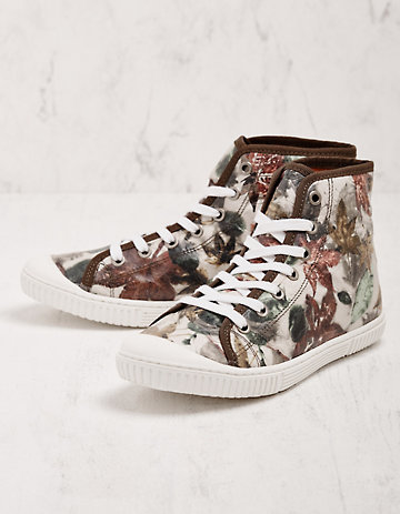 Deerberg Sneaker Wangai grün-bunt
