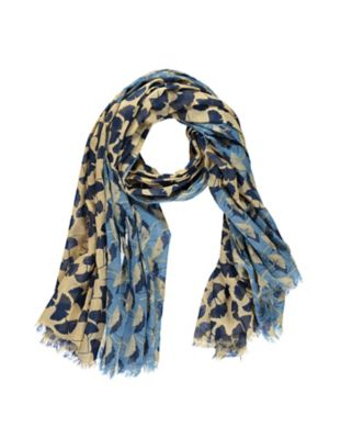 Schal Imena beige-blau