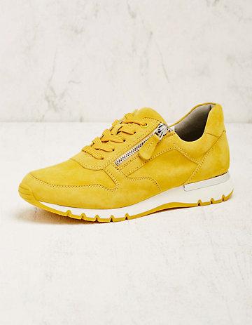 Caprice Leder-Sneaker Rayleen gelb