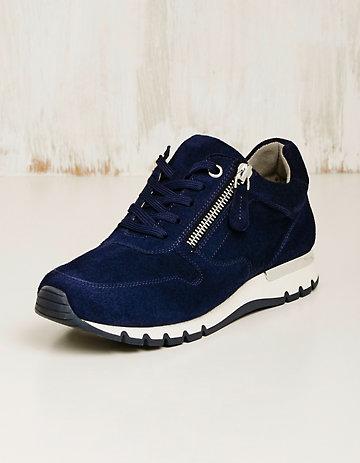 Caprice Veloursleder-Sneaker Rayleen marine