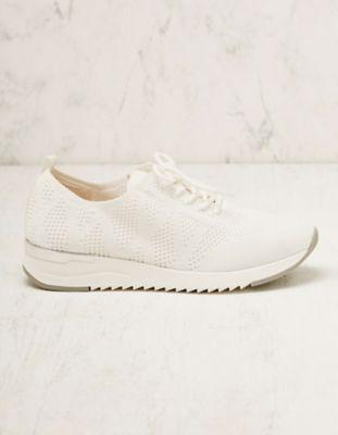 Caprice Stoff-Sneaker Adalcira weiß