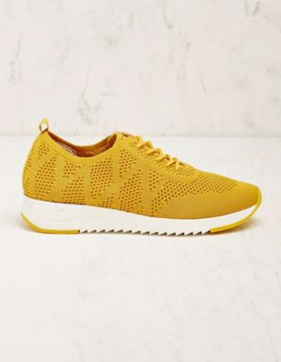 Caprice Stoff-Sneaker Adalcira gelb