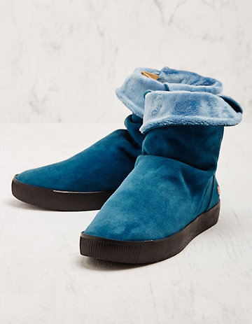 Softinos Stiefeletten Helida blau