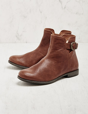 Think Stiefeletten Naime cognac