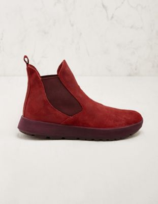 Think Stiefeletten Nate rot