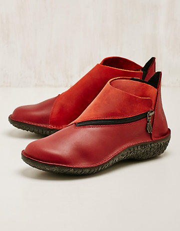 Loints of Holland Stiefeletten Ninia rot
