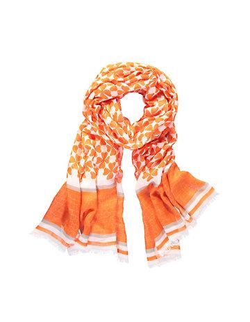 Deerberg Schal Bauwa orange