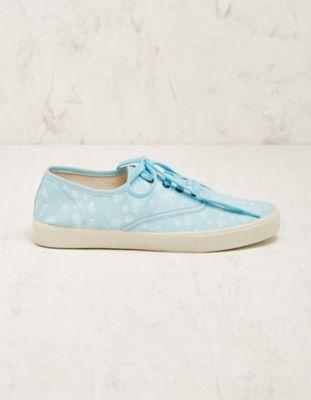 Deerberg Stoff-Sneaker Meeri hellblau
