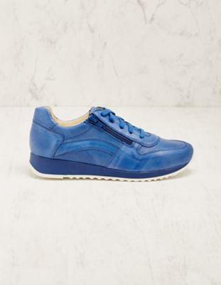 Deerberg Leder-Sneaker Wiba blau