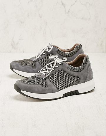 Gabor Leder-Sneaker Alfriede grau