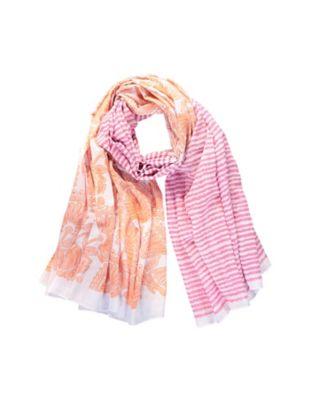 Deerberg Schal Deria orange-pink