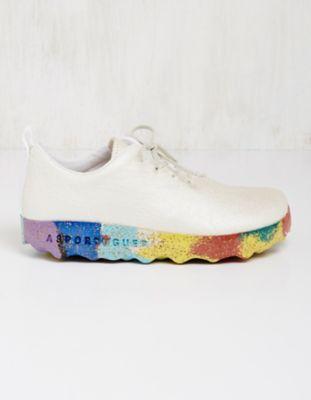 Asportuguesas Pinatex-Sneaker Tomasine weiß