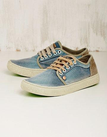 Satorisan Vegan-Sneaker Rosika jeans