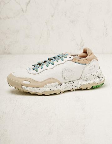 Satorisan Leder-Sneaker Zorina weiß