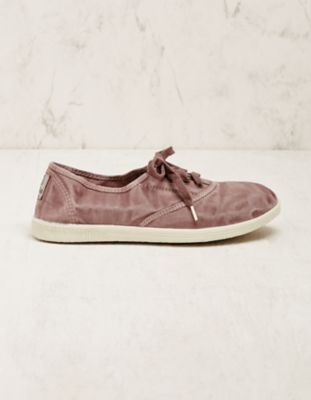 Natural World Vegan-Sneaker Vivianne lila