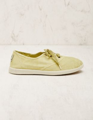Natural World Vegan-Sneaker Vivianne mint