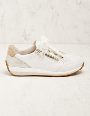 Ara Leder-Sneaker Oletti weiß