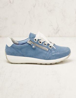 Ara Veloursleder-Sneaker Oletti blau