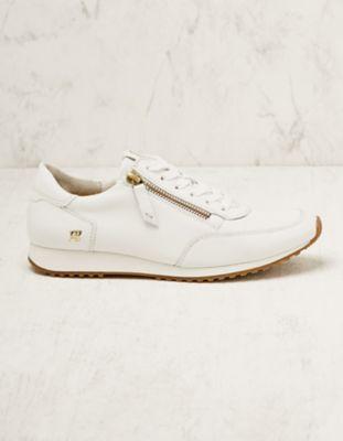 Paul Green Leder-Sneaker Belina weiß