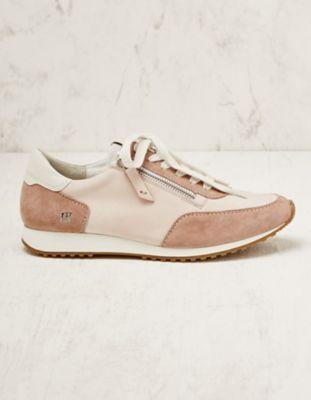 Paul Green Veloursleder-Sneaker Belina rosa