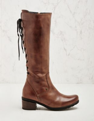 Wolky Stiefel Seoul cognac
