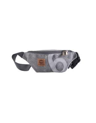 360° Tasche Bum Bag grau