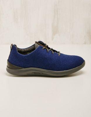 Ganter Woll-Sneaker Isalie mittelblau