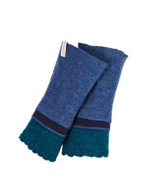 Deerberg Armstulpen Bartolomea blau-bunt