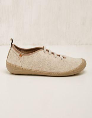 El Naturalista Woll-Sneaker Henja sand