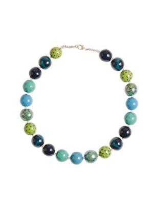 Deerberg Kette Osrun grün-blau