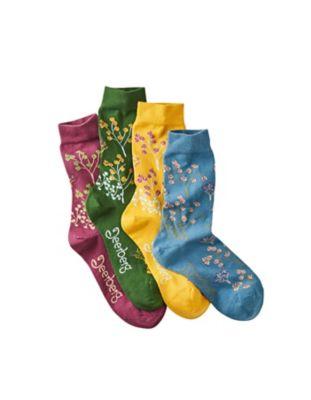 Deerberg 4er Pack Socken Aenlin bunt