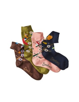 Deerberg 4er Pack Socken Alburgis bunt