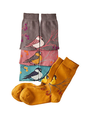 Deerberg 4er Pack Socken Almodis bunt