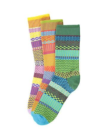 Deerberg 3er Pack Socken Tilde bunt