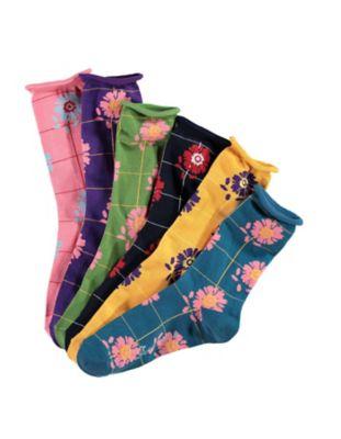 Deerberg 6er Pack Socken Hulda bunt