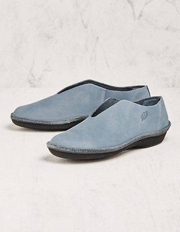 Loints of Holland Slipper Mone jeansblau