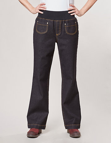 Deerberg Stretch-Jeans Marret schwarz