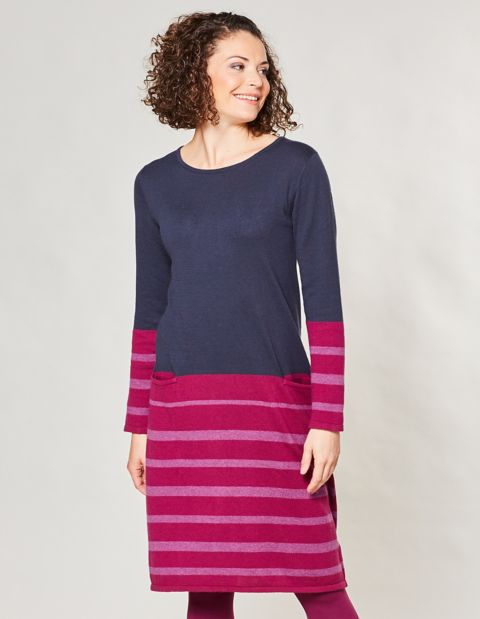 Strick-Kleid Kiana, Rot