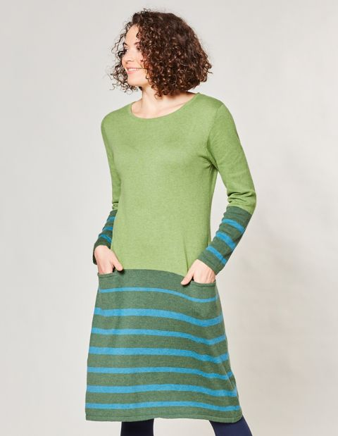 Strick-Kleid Kiana, Grün