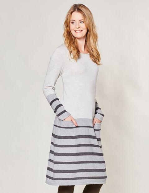 Strick-Kleid Kiana, Grau