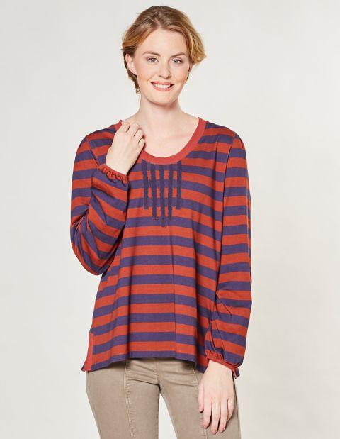 Jersey-Shirt Felina, Braun
