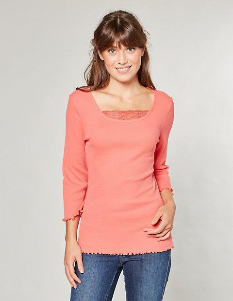 Deerberg Jersey-Shirt, 3/4-Arm Gina