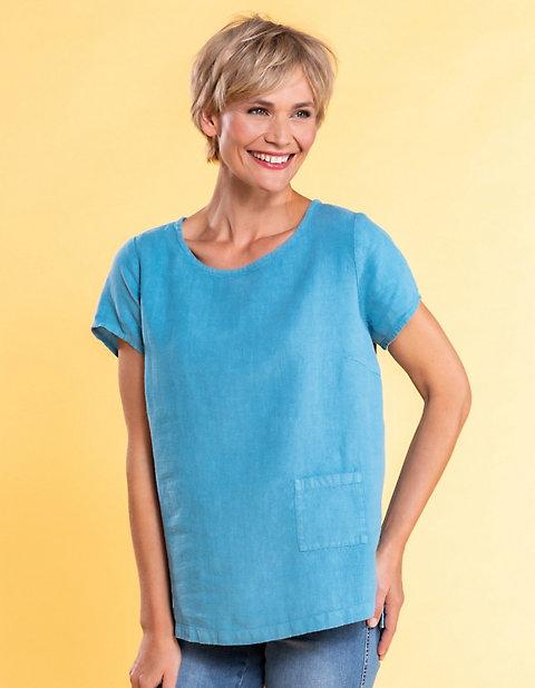 Deerberg Leinen-Shirt Bladina