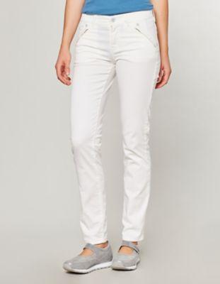 Deerberg Stretch-Jeans Ember cremeweiß