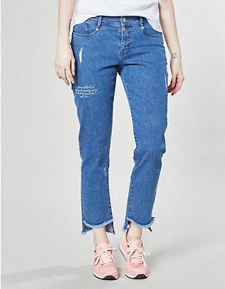 Deerberg Stretch-7/8-Jeans Celine blue-used