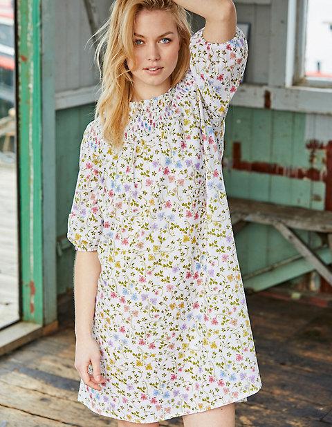 Druck-Kleid Isalie