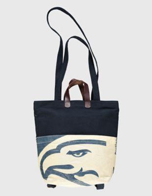 Canvas-Tasche, Rucksack Clarissa marine