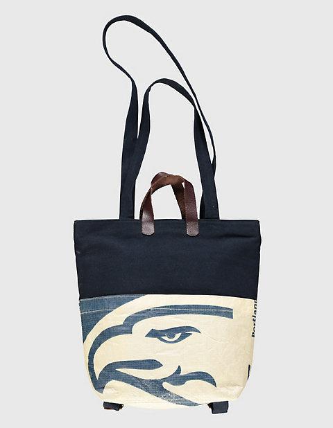 Canvas-Tasche, Rucksack Clarissa