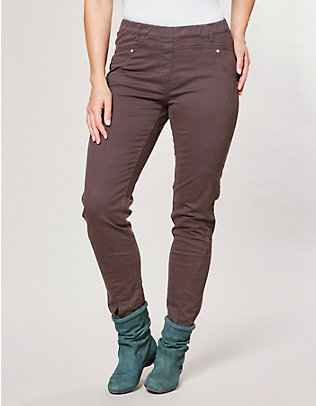 Deerberg Stretch-Hose Flavia ebenholz-washed