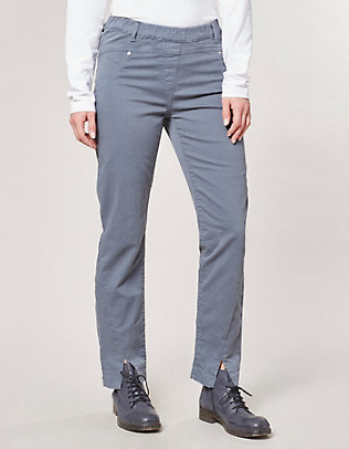 Deerberg Stretch-Hose Flavia bleigrau-washed